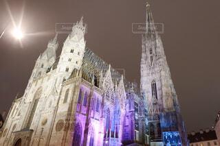 オーストリア、ウィーンのシュテファン大聖堂の写真・画像素材[1653107]