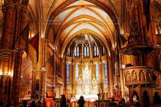 ハンガリー、ブダペストの教会の写真・画像素材[1666384]