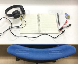 勉強机の写真・画像素材[1680400]