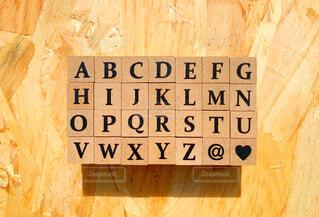 アルファベットの大文字の写真・画像素材[3201958]