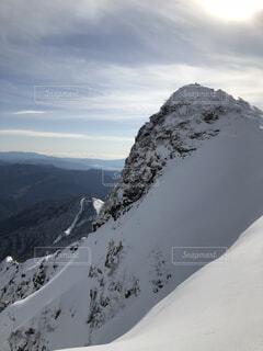雪山登山の写真・画像素材[1646531]