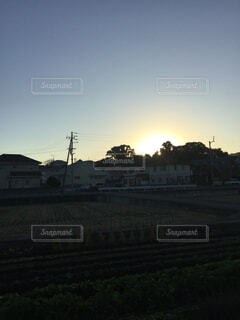 夕日の光の写真・画像素材[1647048]