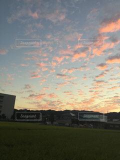 夕日の空の写真・画像素材[1648568]