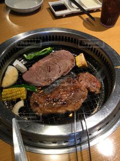 ステーキ焼き肉の写真・画像素材[1648633]