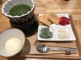 抹茶フォンデュの写真・画像素材[1650571]