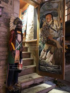ケベックシティにある錯覚アートの写真・画像素材[1650659]