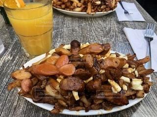 ケベックの郷土料理プーティンの写真・画像素材[1650663]