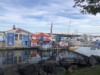 プリンスエドワード島の港の写真・画像素材[1651514]