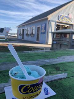 プリンスエドワード島のアイスクリームの写真・画像素材[1651515]