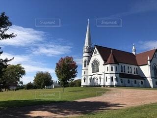 プリンスエドワード島の教会の写真・画像素材[1651516]