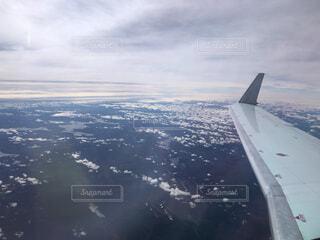 飛行機からの写真・画像素材[1651713]