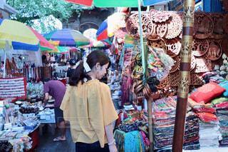 東南アジアのマーケット巡りの写真・画像素材[1651034]
