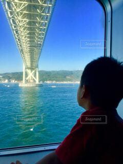 橋を見上げるの写真・画像素材[1652269]