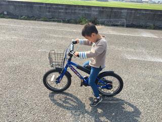 自転車練習の写真・画像素材[1663867]