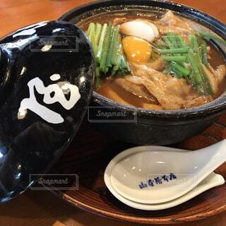 名古屋の名物味噌煮込みうどんの写真・画像素材[1653122]