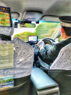 タクシードライバーの写真・画像素材[1808748]