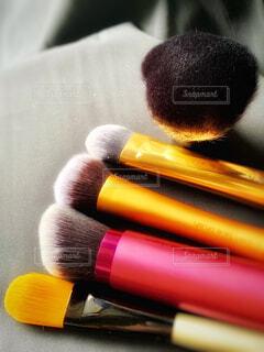 コスメブラシ✨化粧道具の写真・画像素材[1856412]