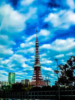 東京タワーの写真・画像素材[1652794]