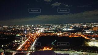 夜の街の景色の写真・画像素材[1655810]