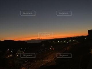 夕焼けの空の写真・画像素材[1732846]
