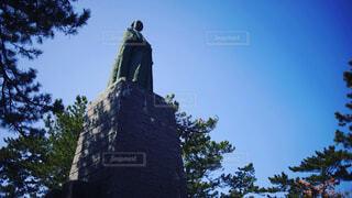桂浜 坂本龍馬像の写真・画像素材[1654069]