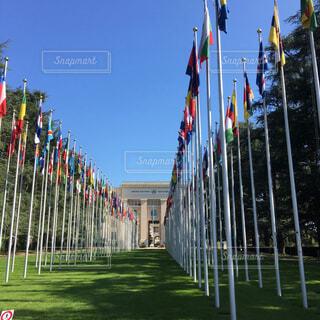 国連本部の写真・画像素材[2190869]