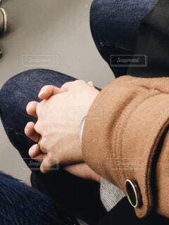 恋人繋ぎの写真・画像素材[1655149]