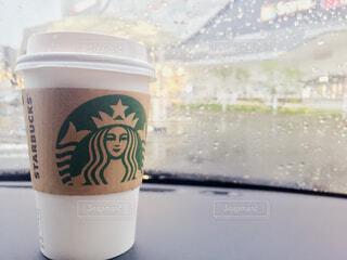 一杯のコーヒーの写真・画像素材[1659917]