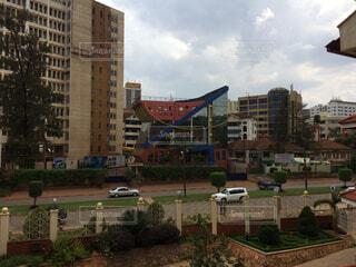 ウガンダの街並の写真・画像素材[1655659]