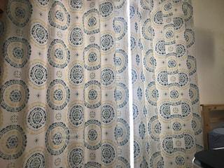 遮光2級カーテンの写真・画像素材[1668669]