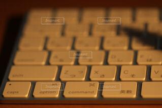 キーボードのアップの写真・画像素材[1671294]