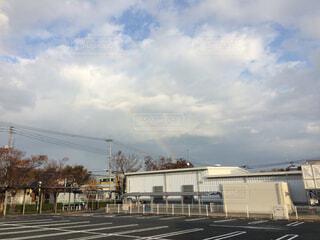 ふいに出た虹の写真・画像素材[1659831]