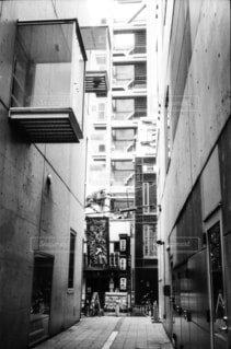 路地の写真・画像素材[1667377]