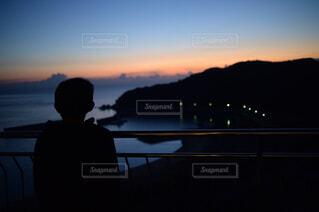 夜明け前の写真・画像素材[1750316]