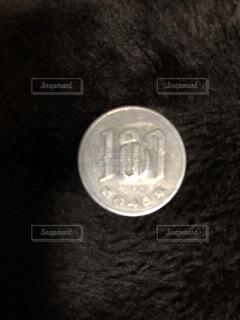 100円玉の写真・画像素材[1664820]