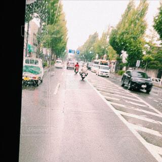 街の通りのビューの写真・画像素材[1660623]