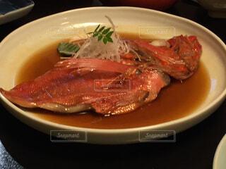 小田原駅前の繁盛店「うおがし」の金目鯛の煮付け。の写真・画像素材[1660922]