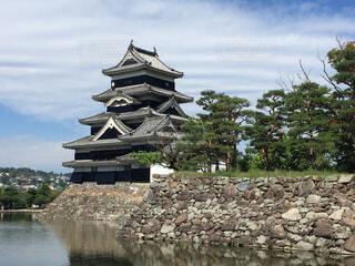 国宝 松本城の写真・画像素材[1667974]