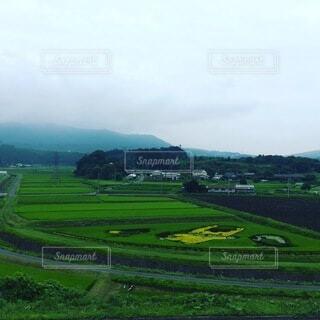 大いなる畑の写真・画像素材[3876338]