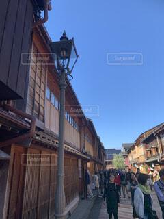東山茶屋街の風景の写真・画像素材[1675457]