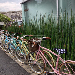 自転車の写真・画像素材[2022006]