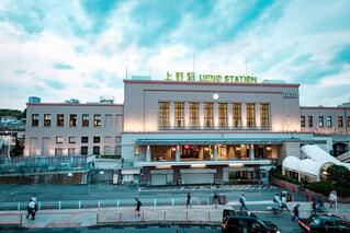 上野駅の写真・画像素材[2468708]