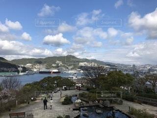 グラバー園から望む長崎の海の写真・画像素材[1670170]