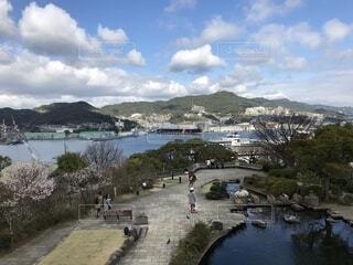 グラバー園から望む長崎の海の写真・画像素材[1670172]