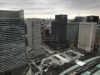 都市の高層ビルの写真・画像素材[1670908]