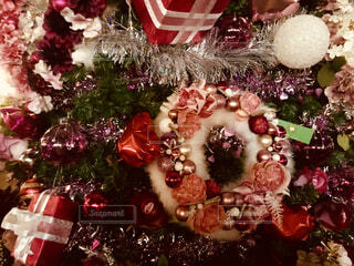 クリスマスの飾りつけの写真・画像素材[1672942]