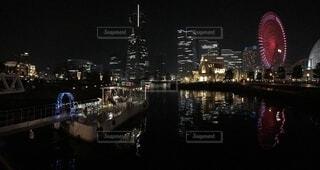 横浜の夜景の写真・画像素材[1691739]
