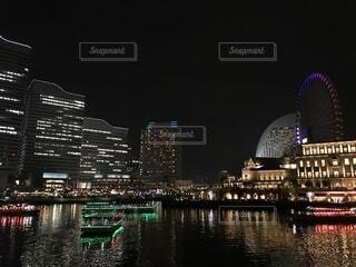 横浜の夜景の写真・画像素材[1691741]