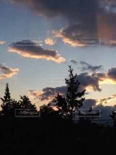 空の雲の写真・画像素材[1674222]