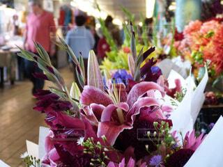 マーケットの花の写真・画像素材[1693369]